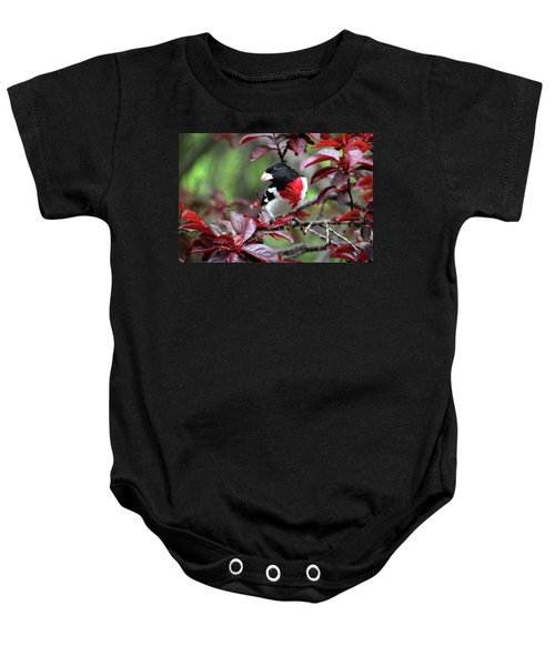 Rose-breasted Grosbeak Baby Onesie