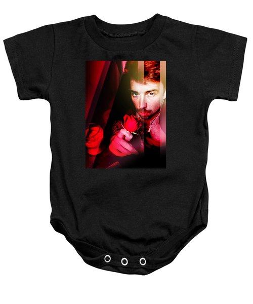 Rose Human Baby Onesie