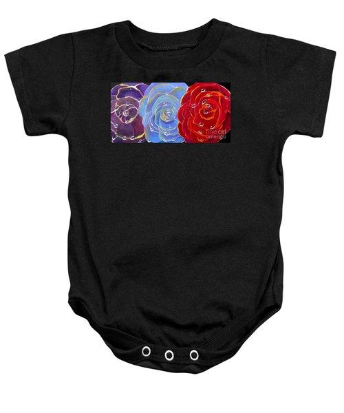 Rose Medley Baby Onesie