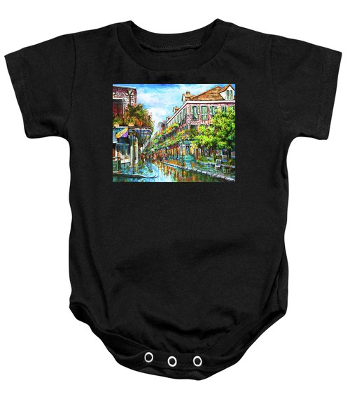 Royal At Pere Antoine Alley, New Orleans French Quarter Baby Onesie