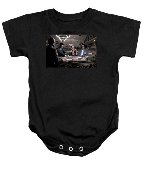 Royal Flush Baby Onesie by Chris Consani
