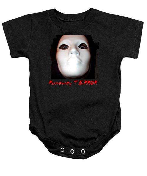 Runaway Terror 3 Baby Onesie