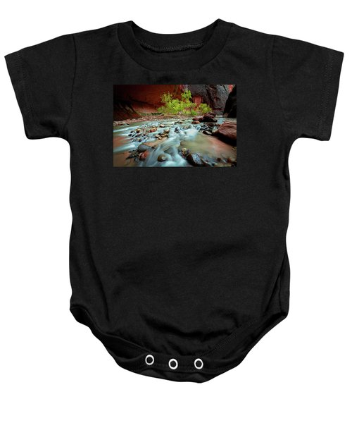 Rush At Narrows Baby Onesie