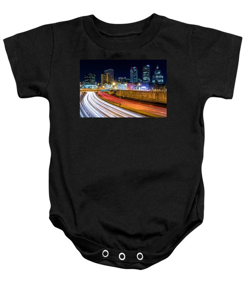 Rush Hour In Hartford, Ct Baby Onesie