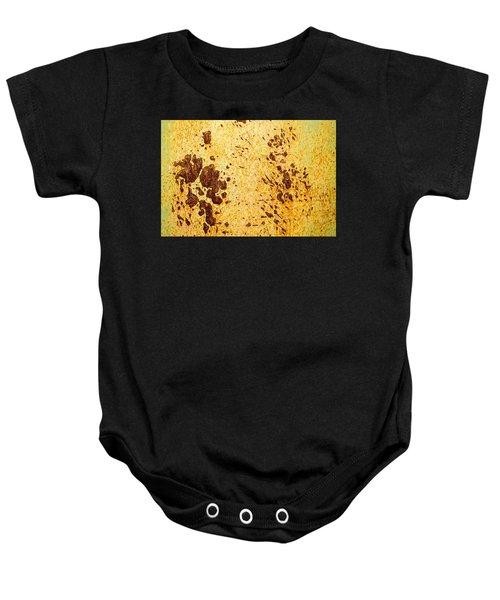 Rust Metal Baby Onesie