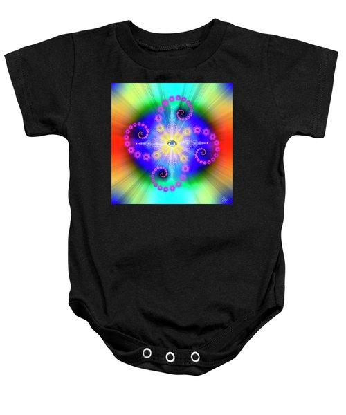 Sacred Geometry 653 Baby Onesie