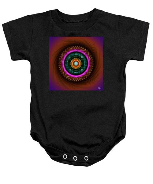 Sacred Geometry 664 Baby Onesie