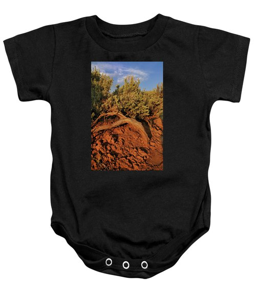 Sagebrush At Sunset Baby Onesie
