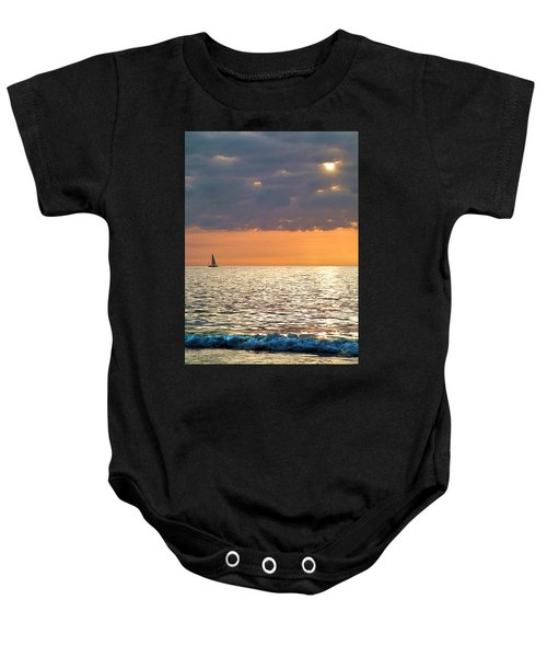 Sailing In The Sun Baby Onesie