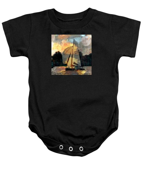 Sailing Into The Sunset Baby Onesie