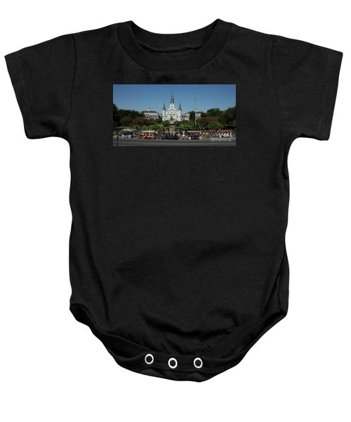 Saint Lewis Cathedral French Quarter New Orleans, La Baby Onesie