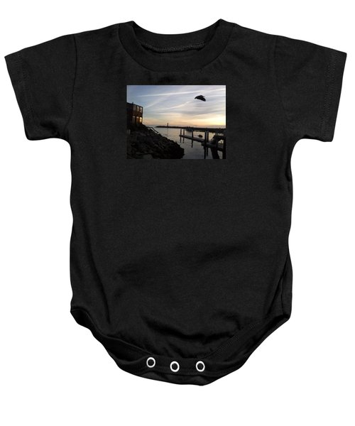 Santa Cruz Evening Baby Onesie