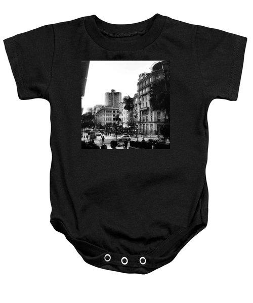 Sao Paulo Downtown #pracaantonioprado Baby Onesie