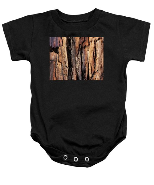 Scorched Timber Baby Onesie