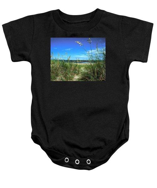 Sea Oat Dunes 11d Baby Onesie