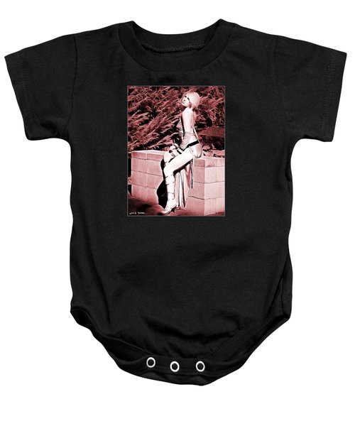 Seated Slave Girl Baby Onesie