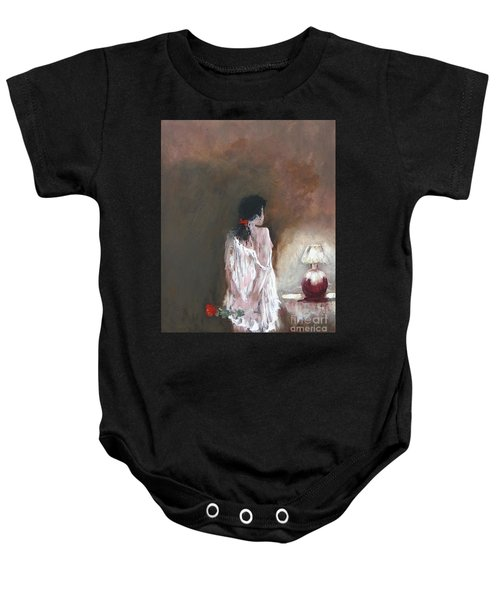 Secret Rose Baby Onesie
