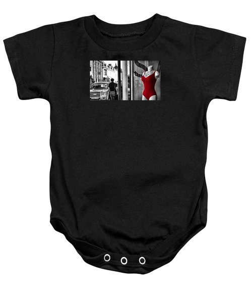Baby Onesie featuring the photograph Seeing Red by Pedro Fernandez