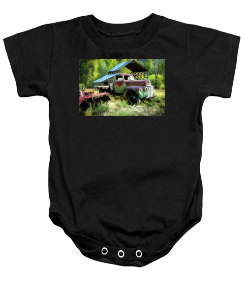 Seen Better Days - Ford Farm Truck Baby Onesie