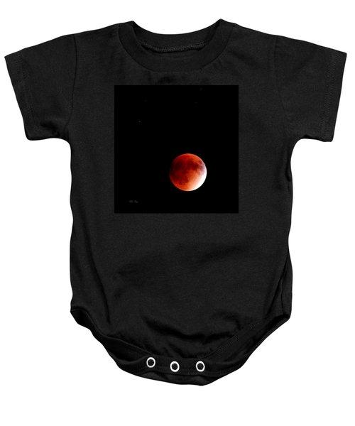 September Bloodmoon 2015 Baby Onesie