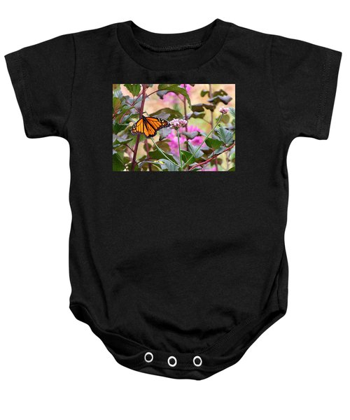 September Monarch Baby Onesie