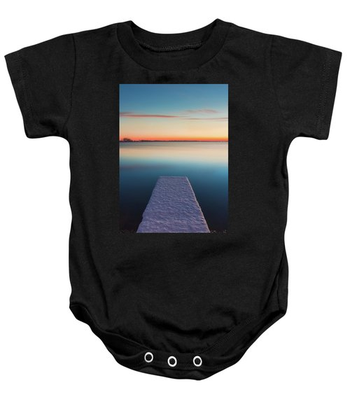 Serene Morning Baby Onesie