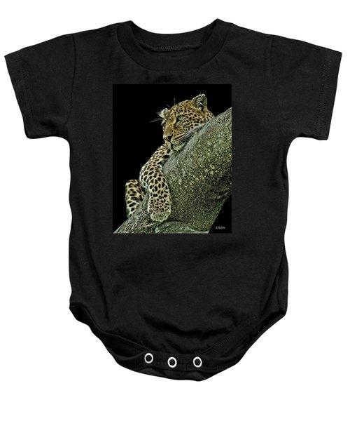 Serengeti Leopard 2a Baby Onesie