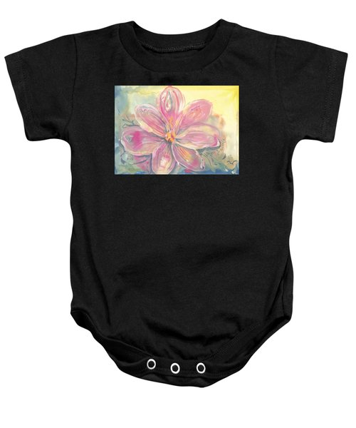 Seven Petals Baby Onesie