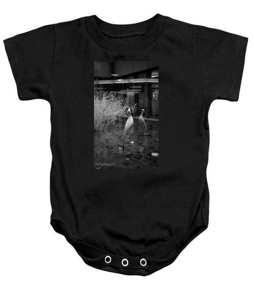 Shadow And Light 13 - Reflections - A Baby Onesie