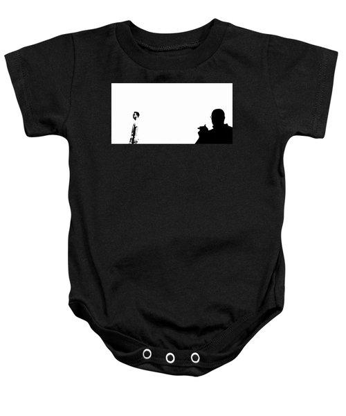 Shadow Man Baby Onesie