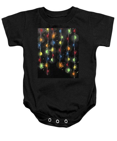 Shattered Lights Baby Onesie