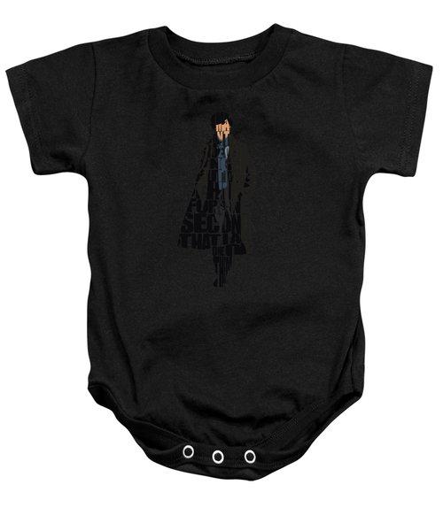 Sherlock - Benedict Cumberbatch Baby Onesie