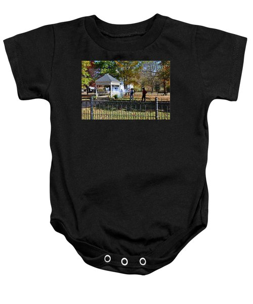 Shoot Out Baby Onesie