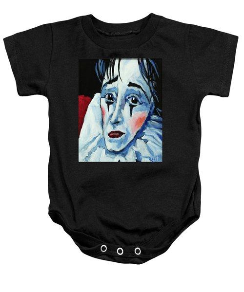 Show Must Go On Baby Onesie
