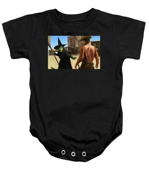 Showdown Baby Onesie