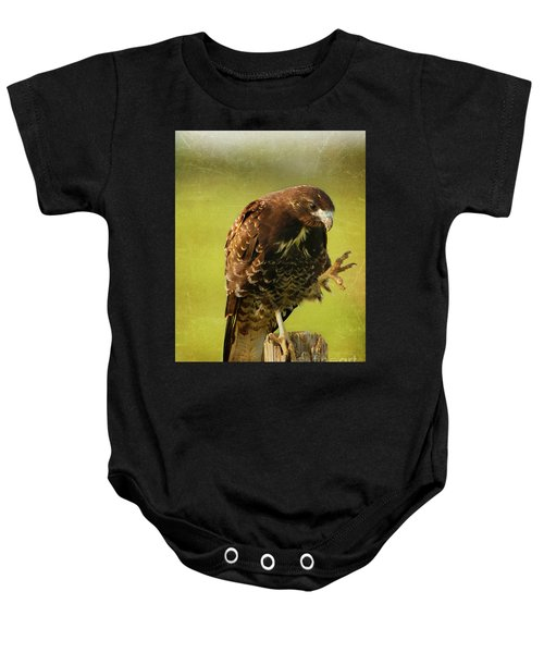 Showing Claws Baby Onesie