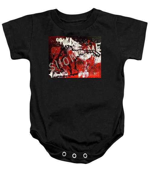 Showtime At The Madhouse Baby Onesie