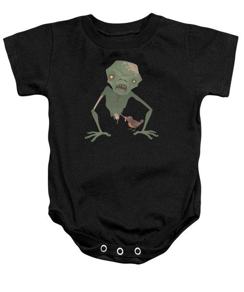 Sickly Zombie Baby Onesie by John Schwegel