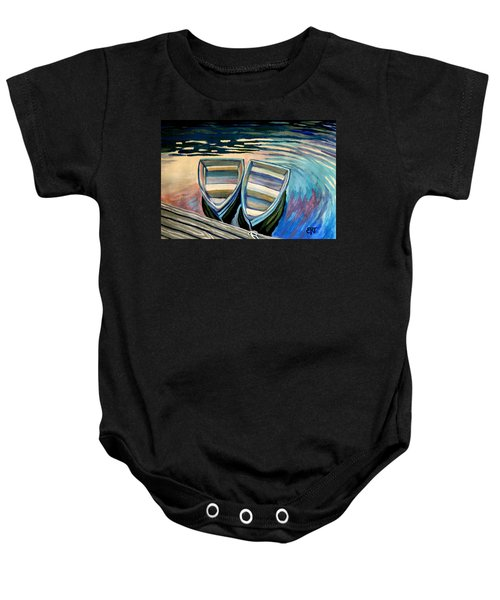 Side By Side Baby Onesie