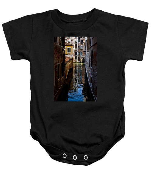 Side Canal Baby Onesie