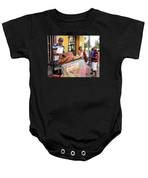 Sidewalk Cafe Baby Onesie