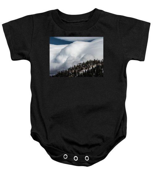 Sierra Stormclouds Baby Onesie