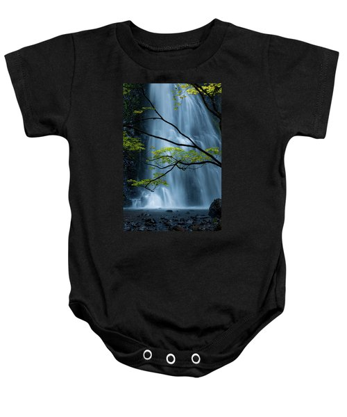 Silver Fall Baby Onesie