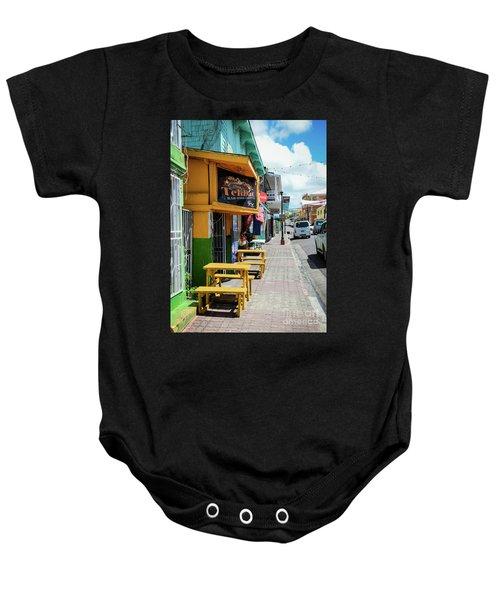 Simple Street View Baby Onesie