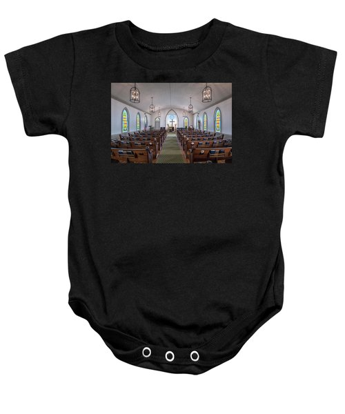 Simple Worship Baby Onesie