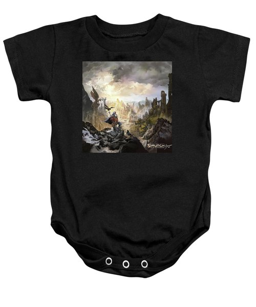 Simurgh Call Of The Dragonlord Baby Onesie