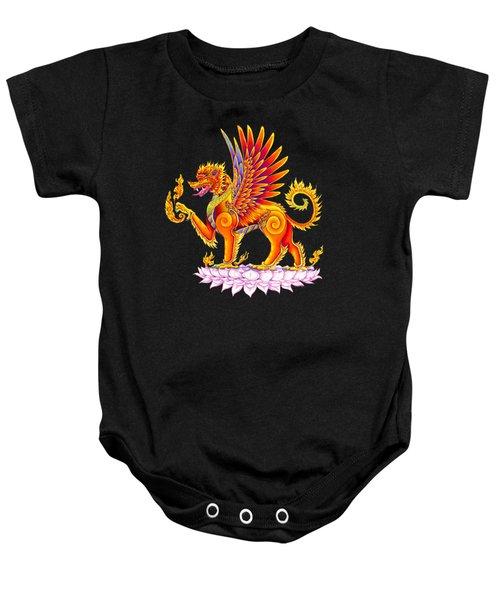 Singha Winged Lion Baby Onesie