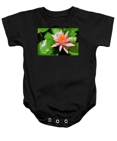 Single Flower Baby Onesie