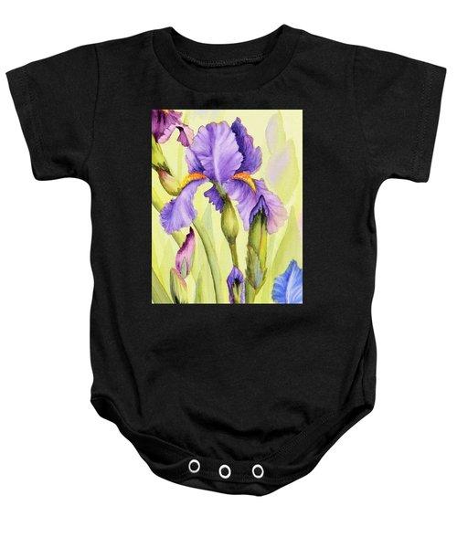 Single Iris Baby Onesie