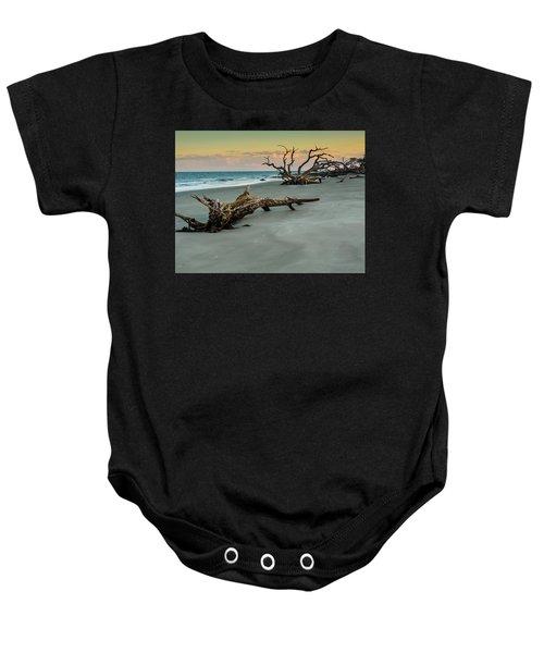 Sunset On Jekyll Island Baby Onesie